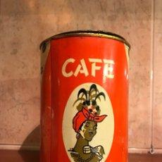 Cajas y cajitas metálicas: BARCELONA. CAFÉ BAYANA, BONITO BOTE DE HOJALATA LITOGRAFIADA (H.1960?). Lote 106955123