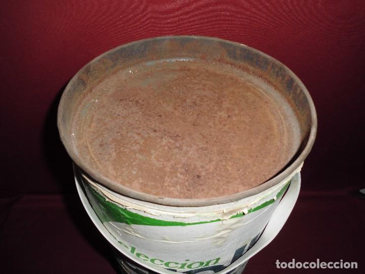 Cajas y cajitas metálicas: magnifico gran bidon antiguo seleccion crolls bioactivo,en carton y hojalata - Foto 5 - 107037847