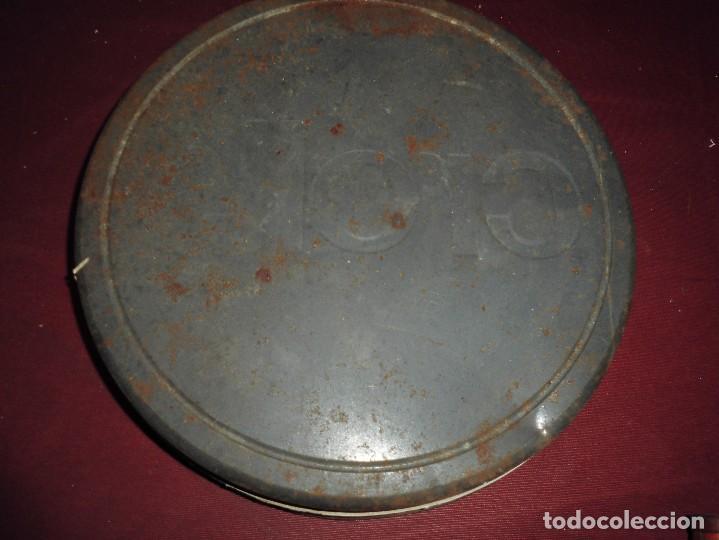 Cajas y cajitas metálicas: magnifico gran bidon antiguo seleccion crolls bioactivo,en carton y hojalata - Foto 7 - 107037847