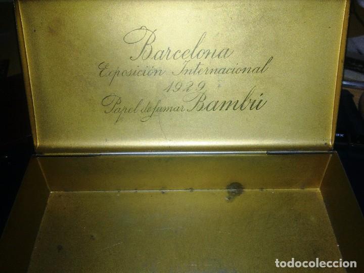 Cajas y cajitas metálicas: 3 CAJAS METALICAS - PAPEL FUMAR BAMBU. - Foto 3 - 107157739