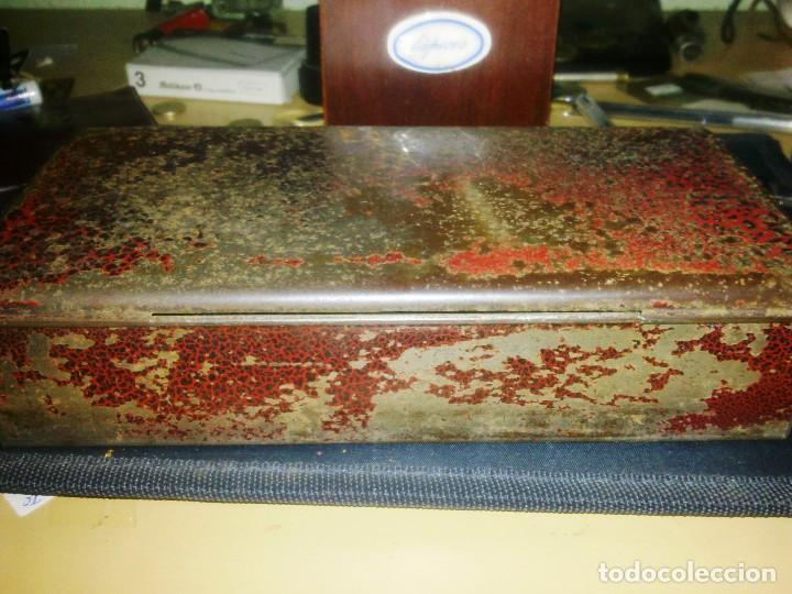 Cajas y cajitas metálicas: 3 CAJAS METALICAS - PAPEL FUMAR BAMBU. - Foto 4 - 107157739