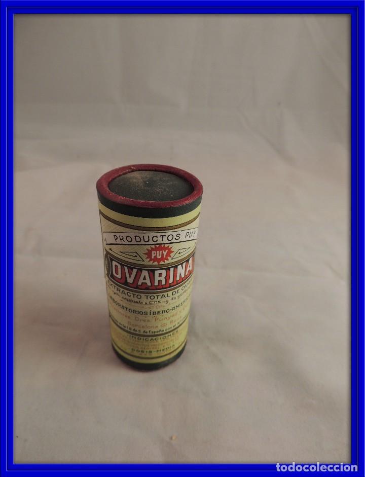 caja antigua medicina ovarina extracto de ovari comprar cajas