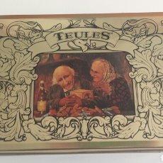Cajas y cajitas metálicas: CAJA METÀLICA TEULES. NETS DE JOAQUIM TRIAS. Lote 107473399