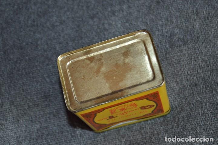 Cajas y cajitas metálicas: ANTIGUA CAJA / CAJITA DE HOJALATA - QUERFLA TEA - THE PUREST TEA - PRECIOSA Y VINTAGE - HAZ OFERTA - Foto 4 - 193231907