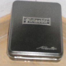 Cajas y cajitas metálicas: CAJA DE HOJALATA ** PIEL NOBLE **. Lote 107656467