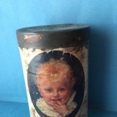Cajas y cajitas metálicas: ANTIGUO BOTE DE LECHE INFANTIL KUFEKE. LATA METÁLICA. HAMBURGO. ALIMENTO BEBÉ. Lote 135953710