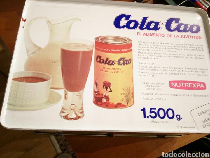 Cajas y cajitas metálicas: Lata colacao - Foto 3 - 108239567