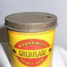 Cajas y cajitas metálicas: LATA CIGARRILLOS GOLDFLAKE. Lote 108322335