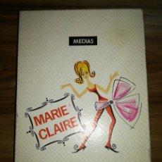Cajas y cajitas metálicas: CAJA MEDIAS MARIE CLAIRE. Lote 108926651