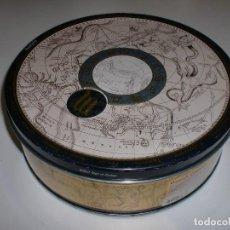 Cajas y cajitas metálicas: BONITA CAJA DE GALLETAS DANESAS. Lote 109052295