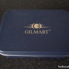 Cajas y cajitas metálicas: 65-ANTIGUA CAJA METALICA GILMART. Lote 109209527