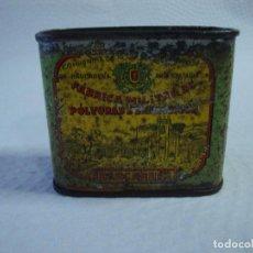 Cajas y cajitas metálicas: ANTIGUA LATA POLVORA. Lote 110250611