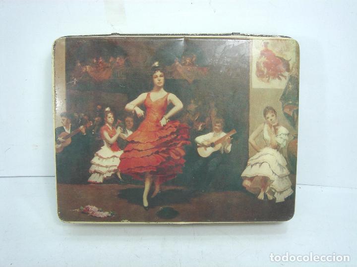 CAJA LATA - PASTCAFE LOGROÑO - 400 GRS- PASTILLAS CAFE Y LECHE - FAB. Nº 38-PAST CAFE -BOTE METALICA (Coleccionismo - Cajas y Cajitas Metálicas)