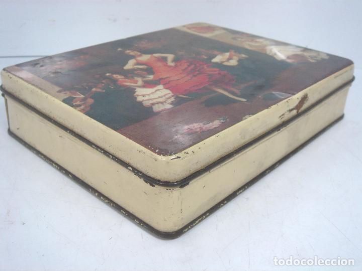 Cajas y cajitas metálicas: CAJA LATA - PASTCAFE LOGROÑO - 400 GRS- PASTILLAS CAFE Y LECHE - FAB. Nº 38-PAST CAFE -BOTE METALICA - Foto 3 - 125986235
