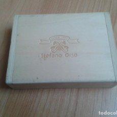 Cajas y cajitas metálicas: CAJITA DE MADERA -- STEFANO ORSO -- SINCE 1984 -- CAJA DE 15 X 11,5 X 4 CM. Lote 110794527
