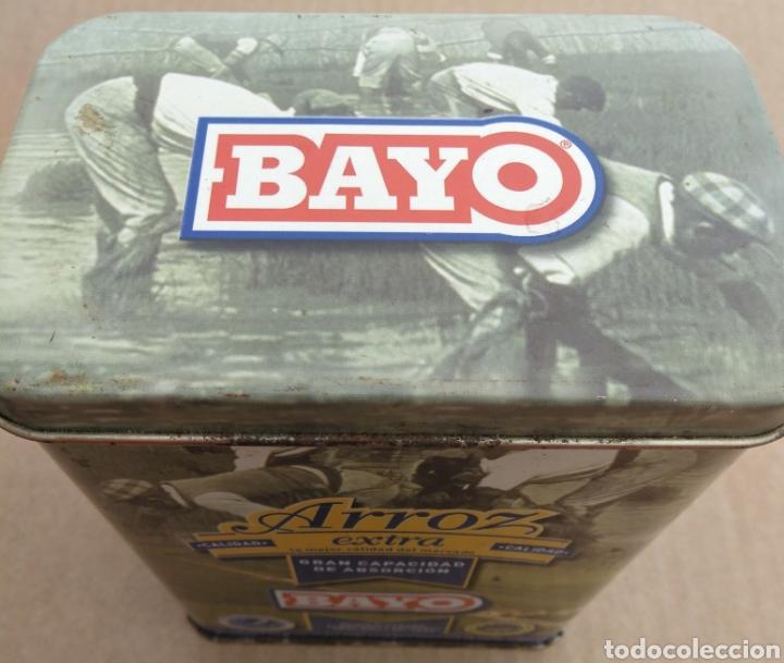 Cajas y cajitas metálicas: CAJA METÁLICA DE ARROZ EXTRA BAYO - Foto 4 - 111965624