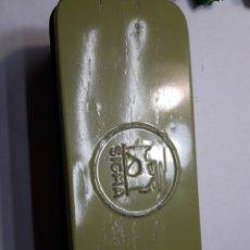 Cajas y cajitas metálicas: CAJA CHAPA MÁQUINA COSER SIGMA. Lote 112660730
