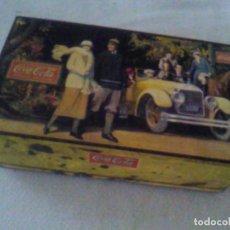 Cajas y cajitas metálicas: COCA COLA CAJA DE LATA COCACOLA 1988 MIDE 19 X 11 X 6,5 CM. Lote 112704291