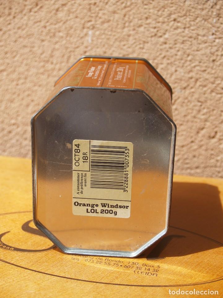 Cajas y cajitas metálicas: LATA TE LIPTON / ORANGE WINDSOR /CAPACIDAD 200 GRAMOS / - Foto 3 - 112740787