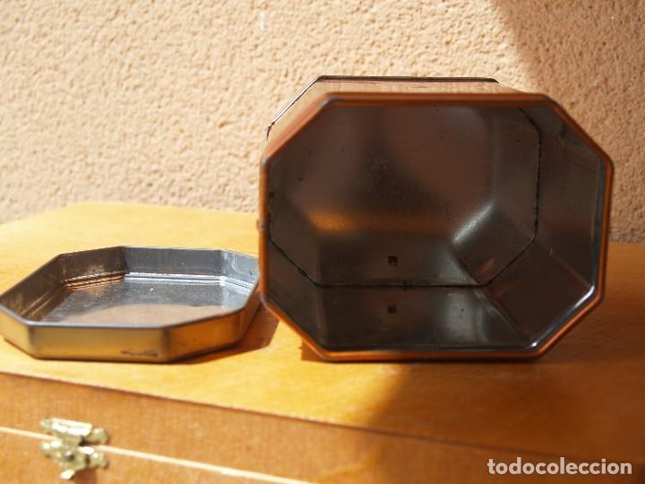 Cajas y cajitas metálicas: LATA TE LIPTON / ORANGE WINDSOR /CAPACIDAD 200 GRAMOS / - Foto 6 - 112740787
