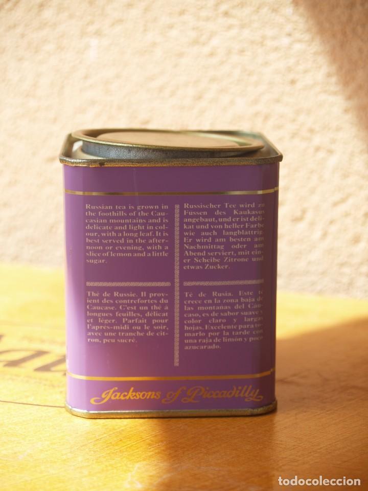 Cajas y cajitas metálicas: LATA TE DE JACKSONS OF PICCADILLY / CAPACIDAD 113 GRAMOS - Foto 2 - 112743679