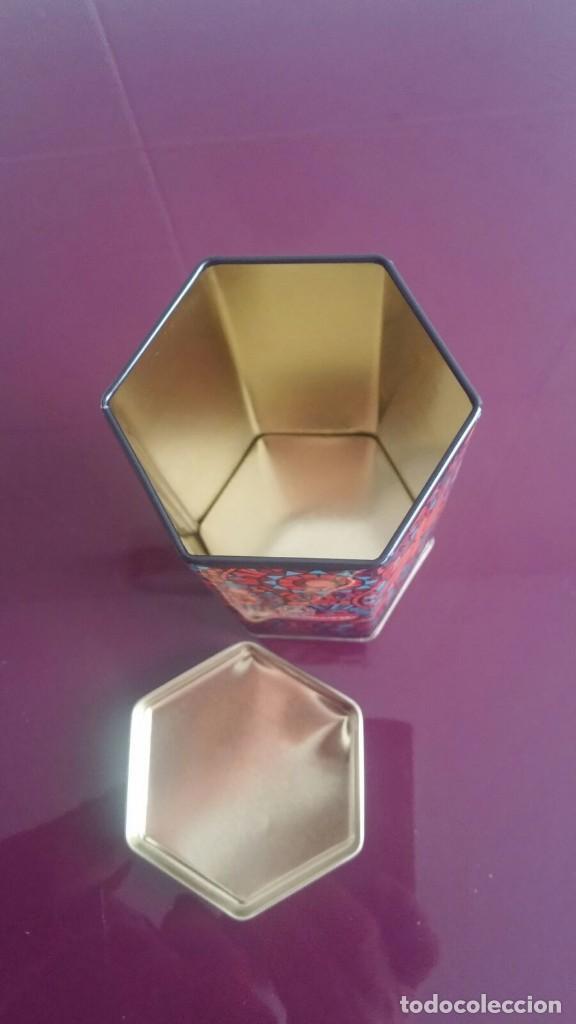 Cajas y cajitas metálicas: Caja metálica - Forma hexagonal - Foto 3 - 112760087