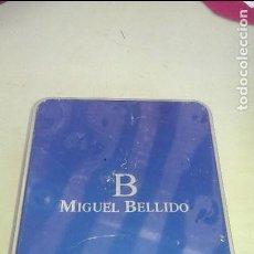 Cajas y cajitas metálicas: CAJA CARTERA MIGUEL BELLIDO. Lote 112879823