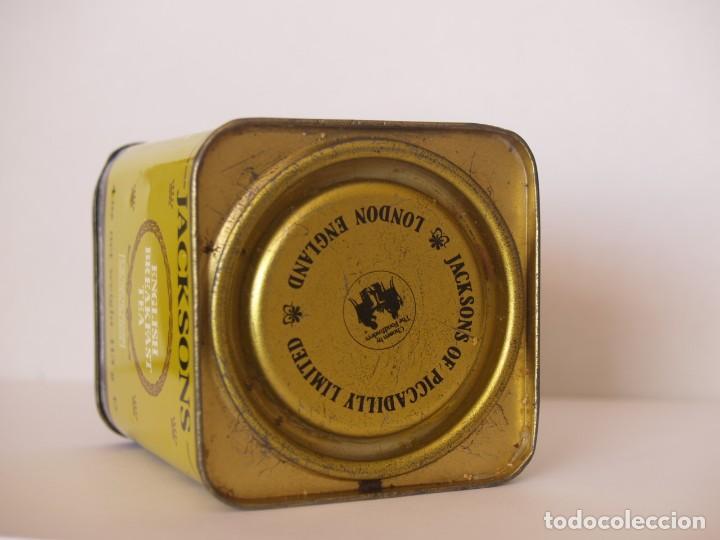 Cajas y cajitas metálicas: LATA DE TE JACKSONS OF PICCADILLY / CAPACIDAD 113 GRAMOS - Foto 3 - 112892475