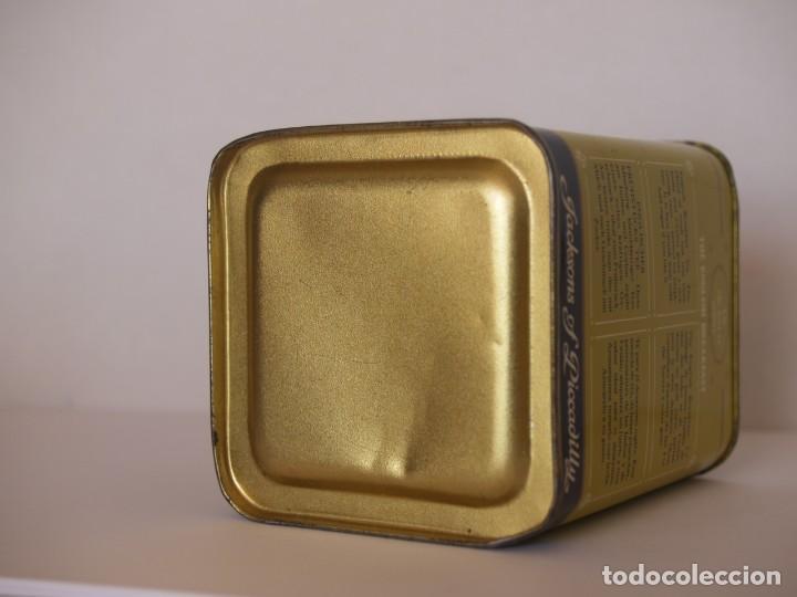 Cajas y cajitas metálicas: LATA DE TE JACKSONS OF PICCADILLY / CAPACIDAD 113 GRAMOS - Foto 4 - 112892475