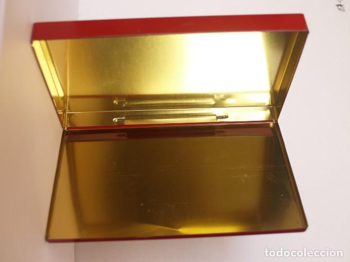 Cajas y cajitas metálicas: LATA SPRINT DE LUXE DE VIGINIAN TOBACCOS / CONTENIENDO VARIAS VITOLAS - Foto 3 - 112897971