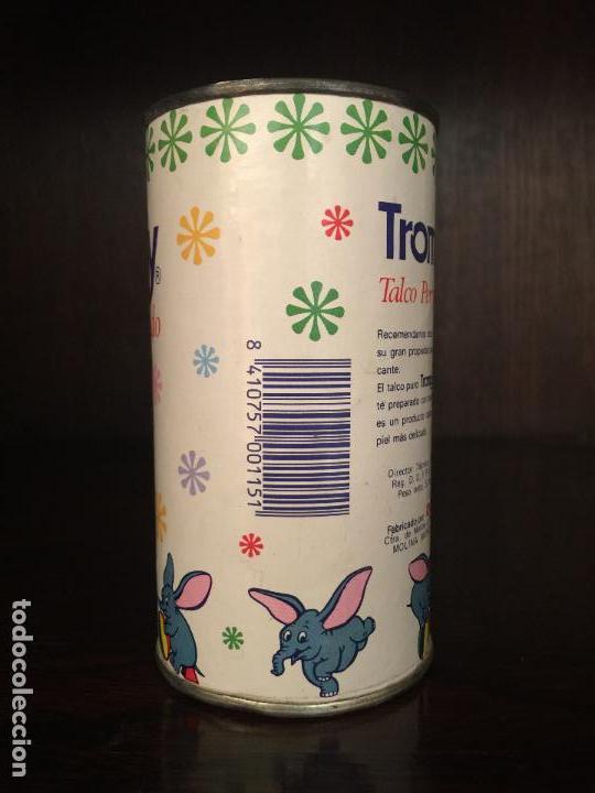Cajas y cajitas metálicas: BOTE POLVOS DE TALCO TROMPY, DUMBO. MOLINA DE SEGURA, MURCIA. - Foto 2 - 113198663