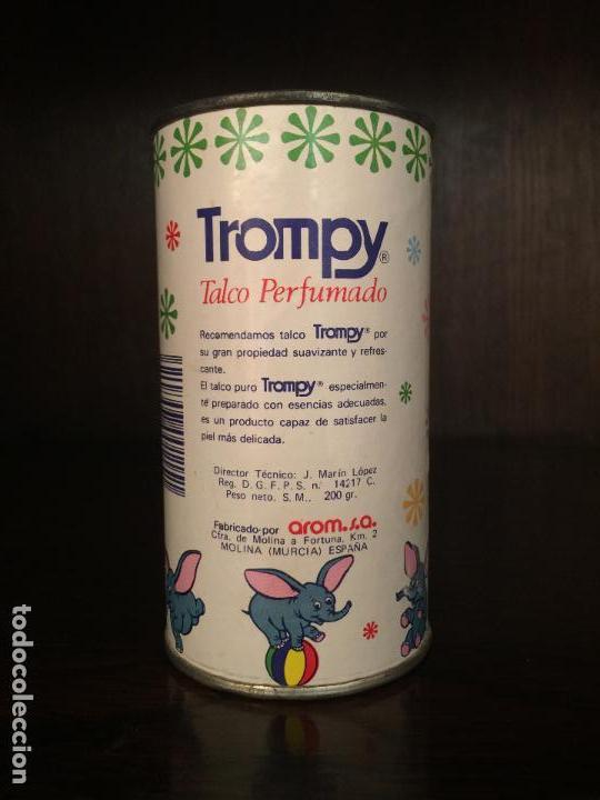 Cajas y cajitas metálicas: BOTE POLVOS DE TALCO TROMPY, DUMBO. MOLINA DE SEGURA, MURCIA. - Foto 3 - 113198663