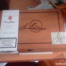 Cajas y cajitas metálicas: CAJA DE PUROS DON JULIÁN. Lote 113201555