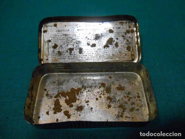 Cajas y cajitas metálicas: CAJITA METALICA - PASTA PECTORAL DEL DOCTOR ANDREU - TOS - DR ANDREU - BARCELONA - - Foto 3 - 113614107