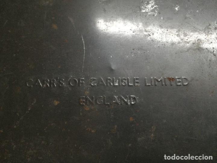 Cajas y cajitas metálicas: CAJA DE METAL LITOGRAFIADO. CLAVELES.INGLESA - Foto 6 - 113701439