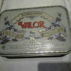 Blechdosen und Kisten - CAJA METÁLICA BOMBONES VALOR - 114560706