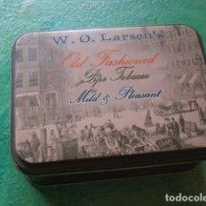 Cajas y cajitas metálicas: CAJA TABACO LARSEN. Lote 114658091