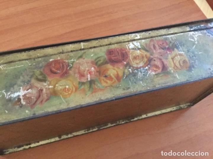 Cajas y cajitas metálicas: Antigua Caja Metálica. Sin Marca - Foto 5 - 115210435