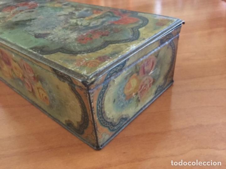 Cajas y cajitas metálicas: Antigua Caja Metálica. Sin Marca - Foto 6 - 115210435