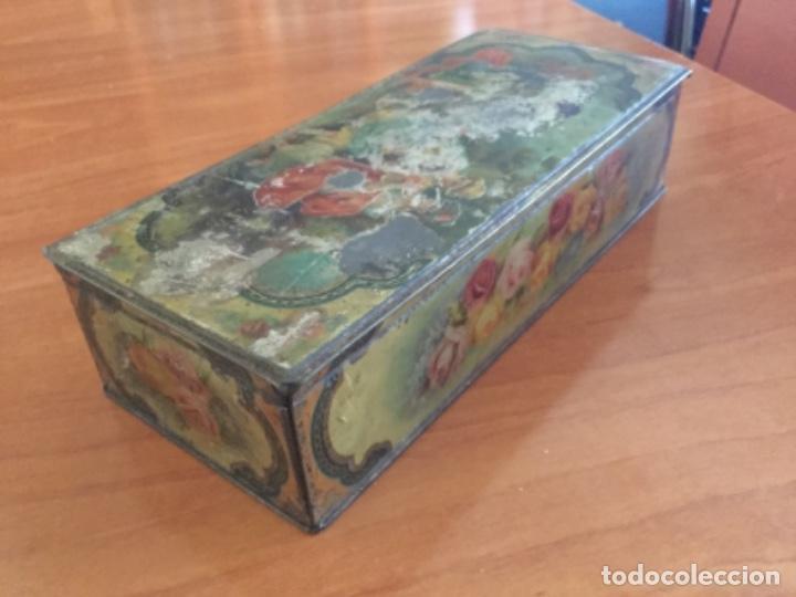 Cajas y cajitas metálicas: Antigua Caja Metálica. Sin Marca - Foto 7 - 115210435