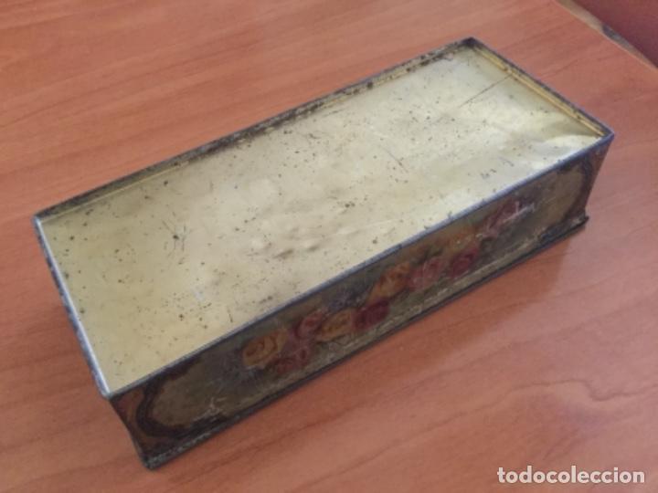 Cajas y cajitas metálicas: Antigua Caja Metálica. Sin Marca - Foto 8 - 115210435