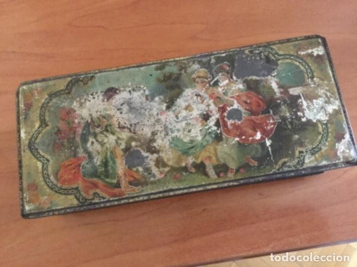 Cajas y cajitas metálicas: Antigua Caja Metálica. Sin Marca - Foto 11 - 115210435