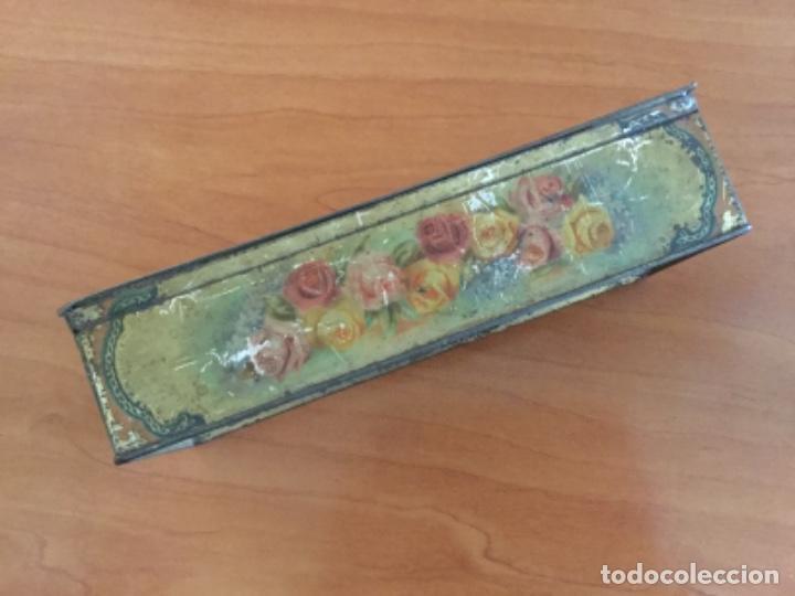 Cajas y cajitas metálicas: Antigua Caja Metálica. Sin Marca - Foto 16 - 115210435
