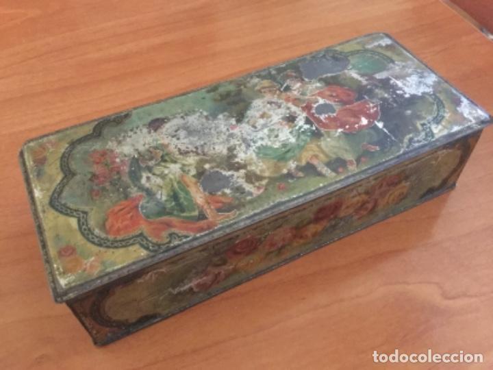 Cajas y cajitas metálicas: Antigua Caja Metálica. Sin Marca - Foto 17 - 115210435