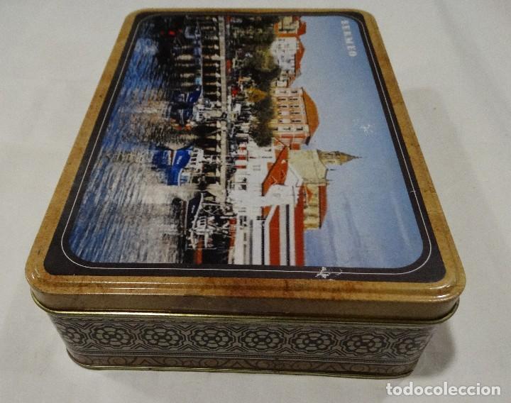 Cajas y cajitas metálicas: CAJA LITOGRAFIADA DE HOJALATA BERMEO - Foto 3 - 115600027