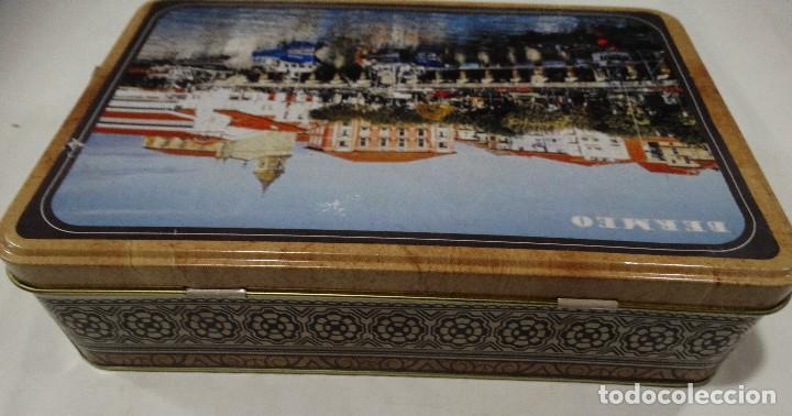 Cajas y cajitas metálicas: CAJA LITOGRAFIADA DE HOJALATA BERMEO - Foto 4 - 115600027