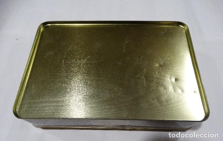 Cajas y cajitas metálicas: CAJA LITOGRAFIADA DE HOJALATA BERMEO - Foto 5 - 115600027
