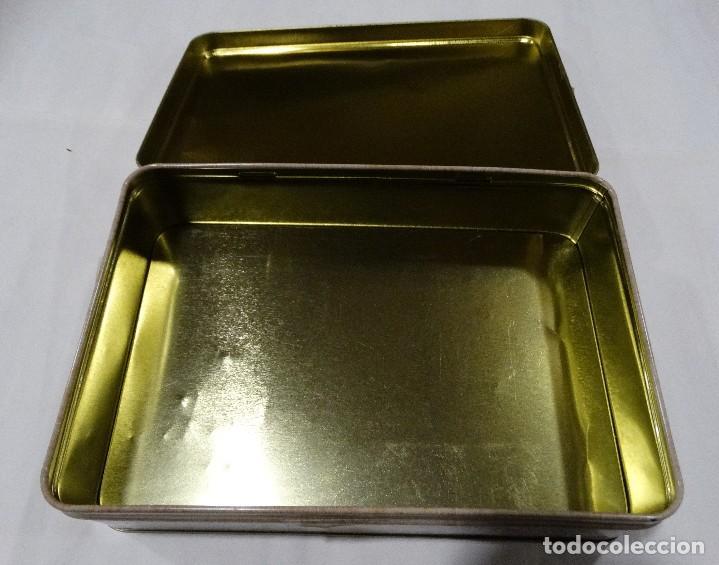 Cajas y cajitas metálicas: CAJA LITOGRAFIADA DE HOJALATA BERMEO - Foto 6 - 115600027