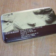 Cajas y cajitas metálicas: CAJA METALICA MADE IN KOREA. 20 X 11,5 X 3 CM. BIEN CONSERVADA. Lote 116094203