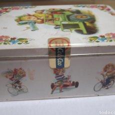 Cajas y cajitas metálicas: CAJA DE COLACAO ANTIGUA Y CON PRECINTO ORIGINAL. Lote 116762924
